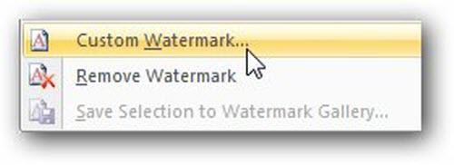 Cách đóng dấu bản quyền cho văn bản Word 2007/2010/2013 - 3