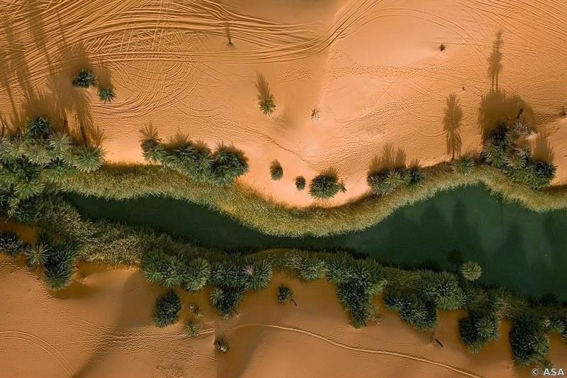 Choáng ngợp vẻ đẹp của ốc đảo giữa lòng sa mạc Sahara - 3