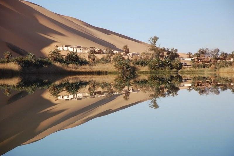 Choáng ngợp vẻ đẹp của ốc đảo giữa lòng sa mạc Sahara - 9