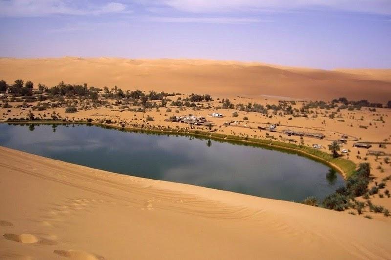 Choáng ngợp vẻ đẹp của ốc đảo giữa lòng sa mạc Sahara - 10