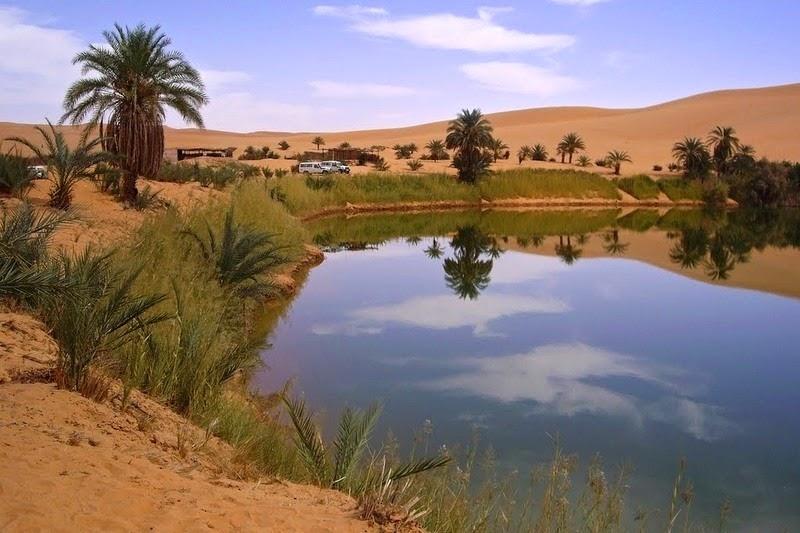 Choáng ngợp vẻ đẹp của ốc đảo giữa lòng sa mạc Sahara - 11
