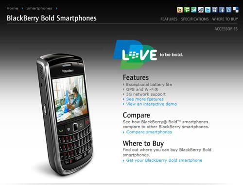 Blackberry 9650 sang trọng, đẳng cấp giá chỉ 1,3 triệu đồng - 1