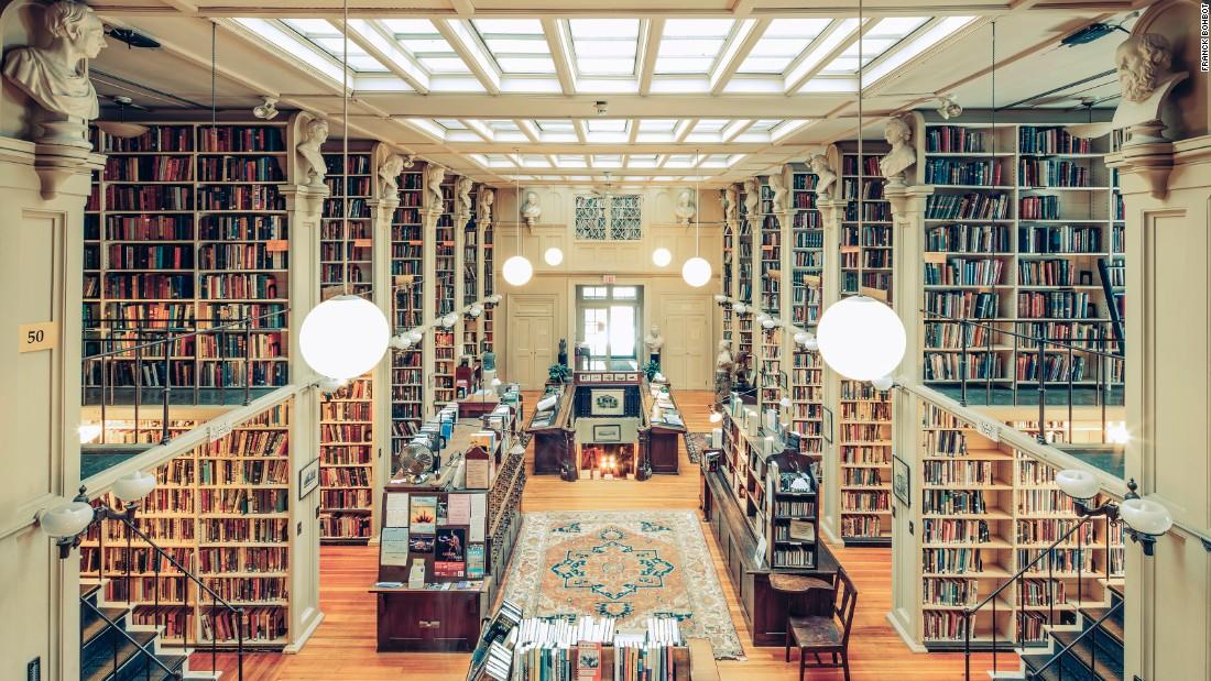 Choáng ngợp những thư viện đẹp nhất nước Mỹ - 11