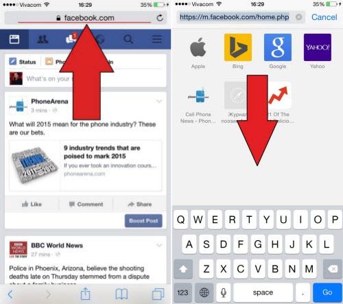 Cách truy cập web trên iPhone, iPad ở chế độ desktop - 1