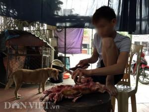 Lạnh người xem mèo bị dìm chết, xẻ thịt ở Thái Bình