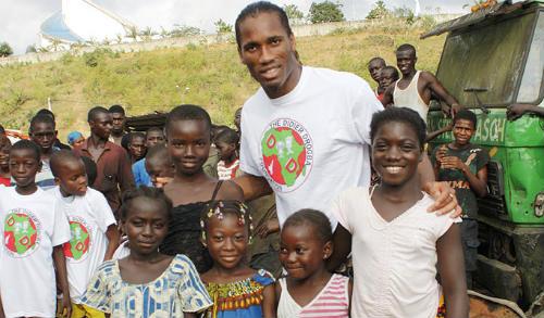 Didier Drogba: Vị thiên sứ của hòa bình - 2