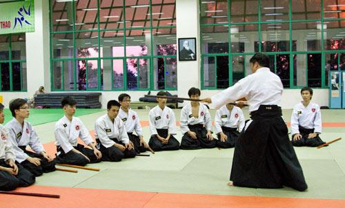 Đi tìm sức khỏe và tự tin ở Aikido - 3