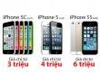 """iPhone 5c/5/5s Nhật giá chỉ từ 3 triệu đồng liên tục """"gây sốt"""""""