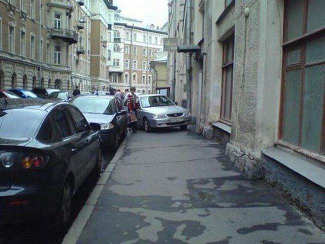 May quá vẫn còn chỗ trống để đậu xe