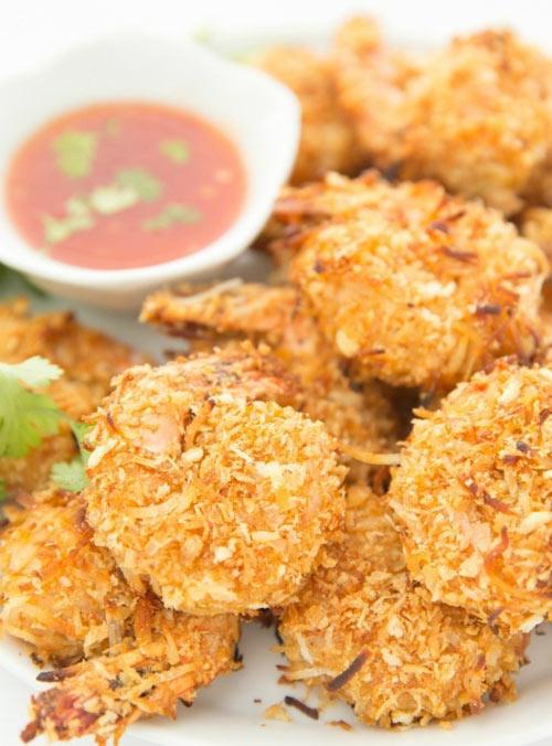 Đổi vị bữa ăn với tôm lăn dừa - 7