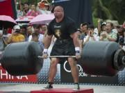 """Nâng 900kg, """"Gấu lớn"""" lần 3 vô địch thiên hạ"""