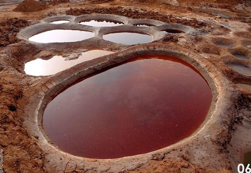 """Cánh đồng muối đất sét """"độc nhất vô nhị"""" ở sa mạc Sahara - 7"""