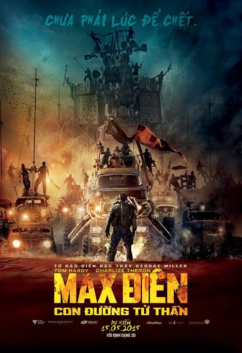 """Hé lộ tạo hình siêu độc của dàn sao """"Max điên 4"""" - 1"""