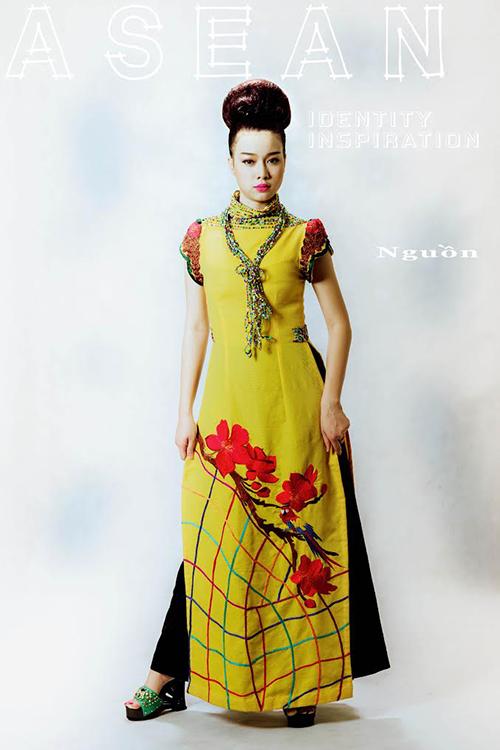 """Siêu mẫu Hoàng Yến mới mẻ với trang phục """"núi rừng"""" - 4"""