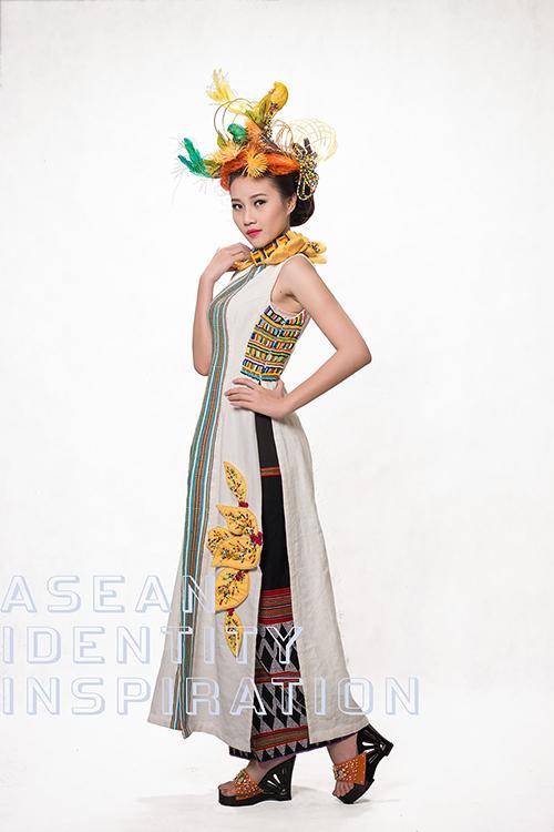 """Siêu mẫu Hoàng Yến mới mẻ với trang phục """"núi rừng"""" - 5"""