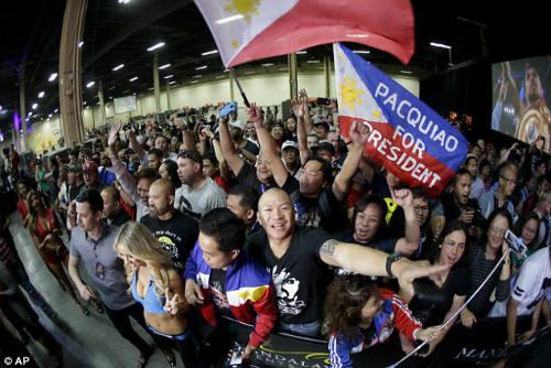 Tin HOT 1/5: Pacquiao muốn làm Tổng thống Philippines - 1
