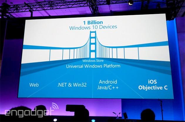 Microsoft 'mơ' có 1 tỷ thiết bị chạy Windows 10 - 1