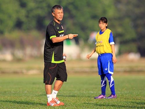 Xem tài thầy Nhật của tuyển nữ Việt Nam - 1
