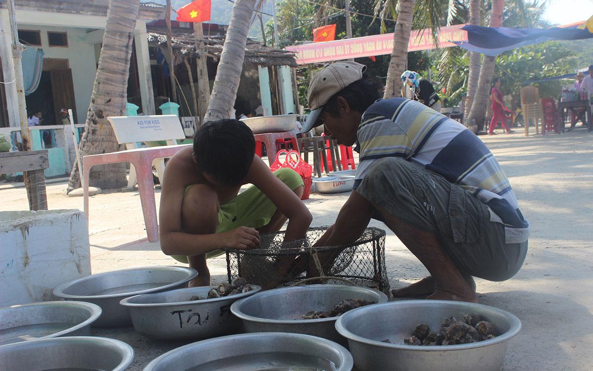 """Chợ hải sản tươi ngon có """"view đẹp nhất nhì Việt Nam"""" - 8"""