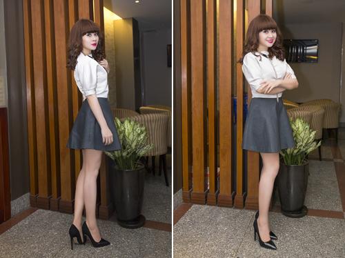 Lưu Thiên Hương và gu thời trang ngấp nghé tứ tuần - 1