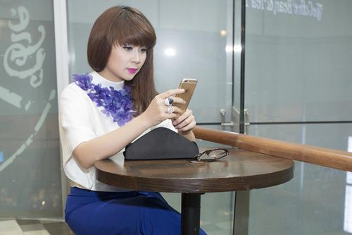 Lưu Thiên Hương và gu thời trang ngấp nghé tứ tuần - 7