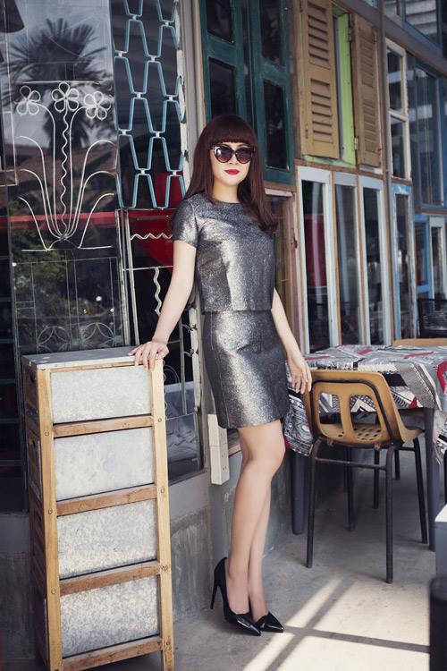 Lưu Thiên Hương và gu thời trang ngấp nghé tứ tuần - 6