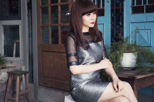 Lưu Thiên Hương và gu thời trang ngấp nghé tứ tuần - 4