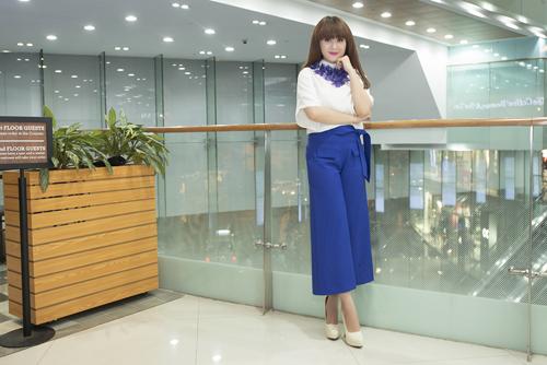 Lưu Thiên Hương và gu thời trang ngấp nghé tứ tuần - 8