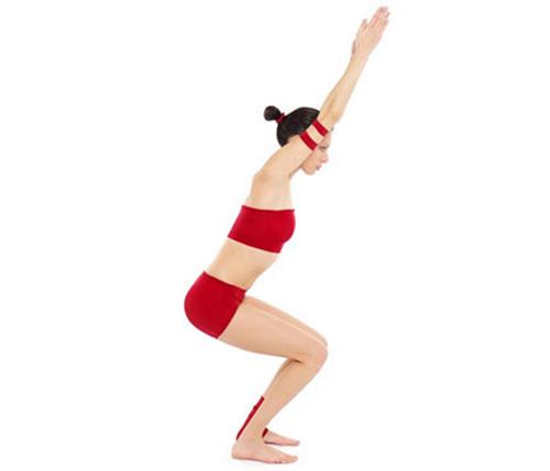 Giảm cân với 5 bài tập yoga tại nhà - 1