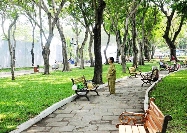 Bộ ảnh: Sống chậm giữa Sài Gòn nhanh - 2
