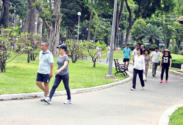 Bộ ảnh: Sống chậm giữa Sài Gòn nhanh - 5