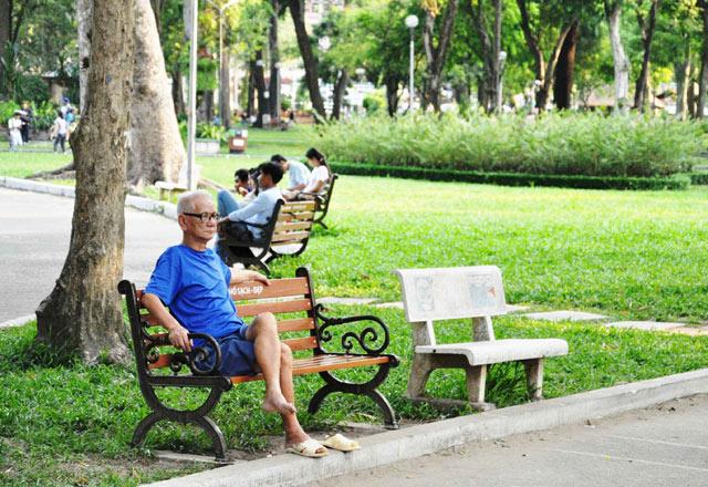 Bộ ảnh: Sống chậm giữa Sài Gòn nhanh - 3