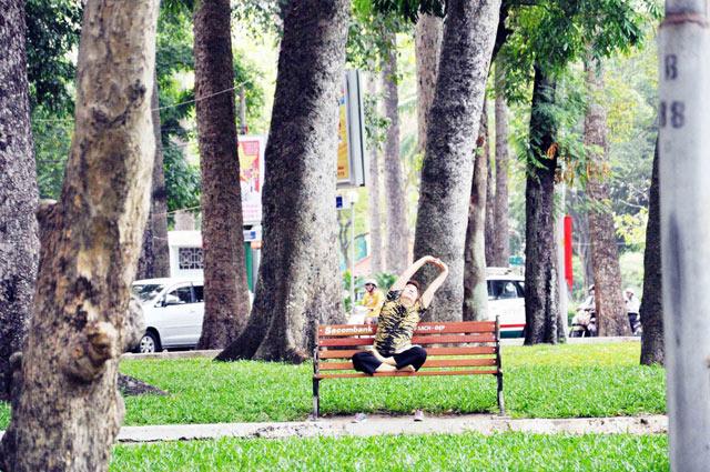 Bộ ảnh: Sống chậm giữa Sài Gòn nhanh - 8