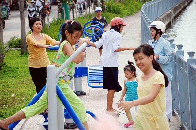 Bộ ảnh: Sống chậm giữa Sài Gòn nhanh - 16
