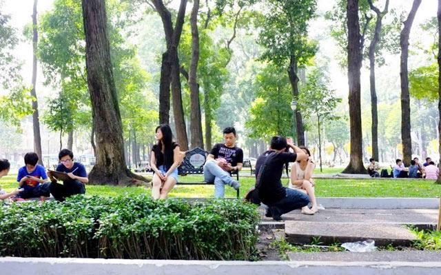Bộ ảnh: Sống chậm giữa Sài Gòn nhanh - 23