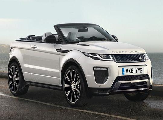 Rò rỉ phiên bản mui trần của xe Land Rover - 1
