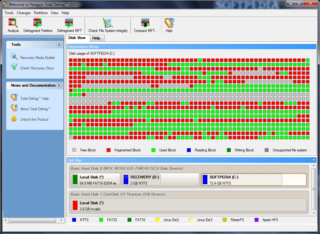 Chống phân mảnh ổ cứng toàn diện với Paragon Total Defrag - 1