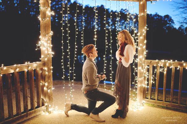 Những màn cầu hôn lãng mạn khiến bao người ao ước - 12