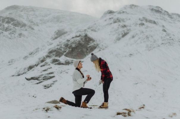 Những màn cầu hôn lãng mạn khiến bao người ao ước - 9