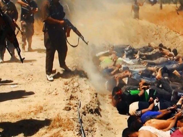IS vô cớ hành hình 300 tù nhân một lúc - 1