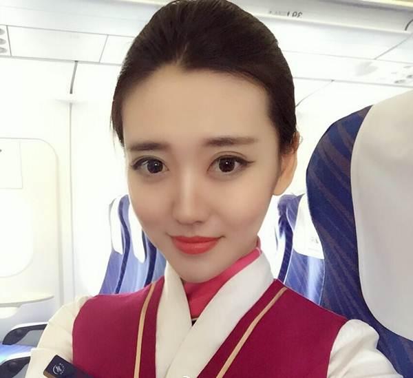 Vẻ đẹp ngọt ngào của mỹ nhân hàng không - 1