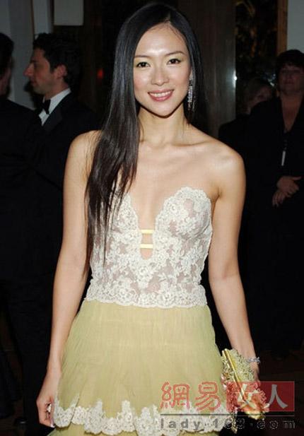 """""""Hết hồn"""" với váy xuyên thấu của mỹ nữ Trung Quốc - 8"""
