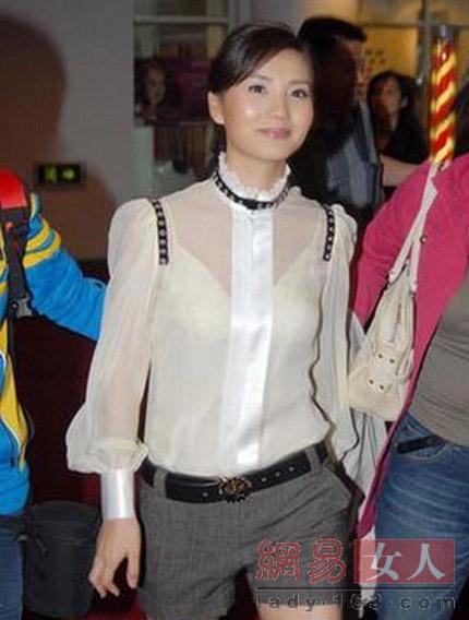 """""""Hết hồn"""" với váy xuyên thấu của mỹ nữ Trung Quốc - 6"""