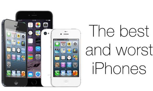 Chấm điểm 10 mẫu iPhone tự cổ chí kim của Apple - 1