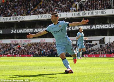 "TRỰC TIẾP Tottenham - Man City: Joe Hart ""lên đồng"" (KT) - 4"