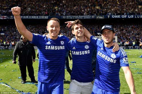 """Chùm ảnh Chelsea """"nổ tung"""" ăn mừng chức vô địch - 2"""