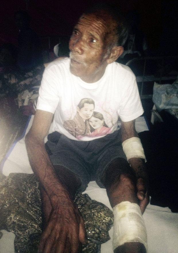 Động đất Nepal: Giải cứu thần kỳ cụ ông 101 tuổi - 1