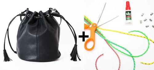 10 biến tấu mới lạ cho chiếc túi xách bớt nhàm chán - 5