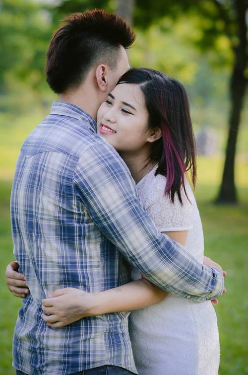 Xúc động với bộ ảnh tình yêu của cô gái bị ung thư - 4