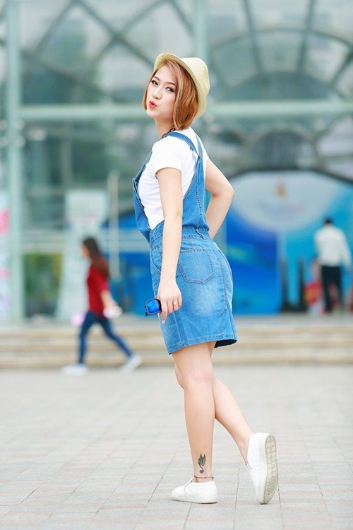 """Thị trường hè 2015: Quần, váy yếm vẫn là """"đặc sản"""" - 1"""